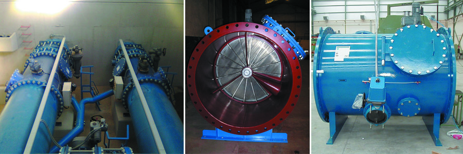 Self-cleaning filter FW - FILTRAMAS